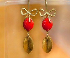 Matching earrings - Zahia