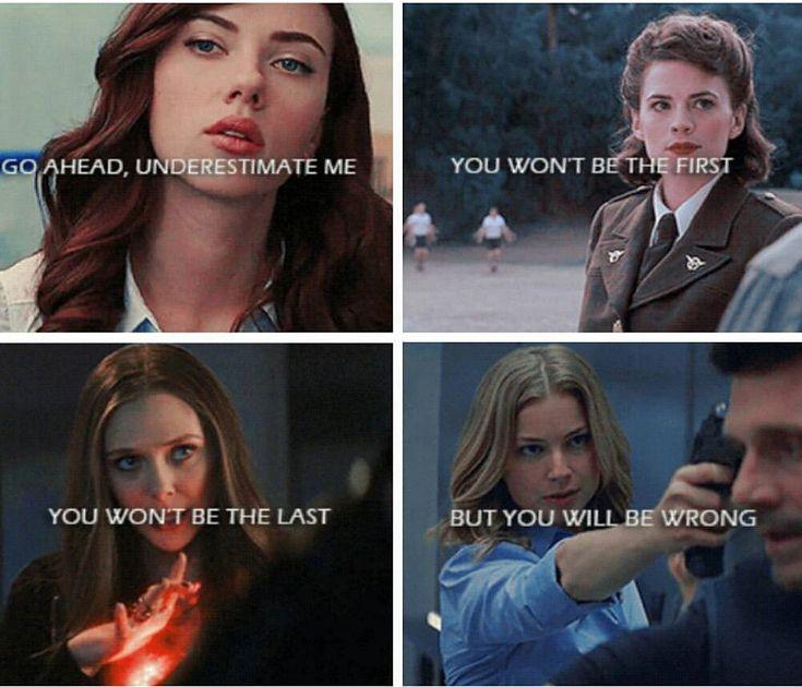 #Marvel #WomenPower