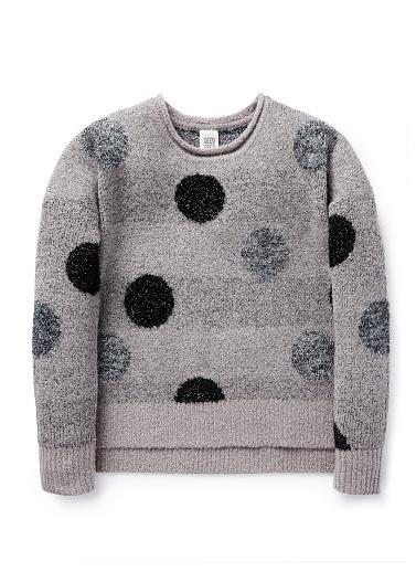Teen Girls Knitwear & Jumpers | Lurex Spot Sweater | Seed Heritage