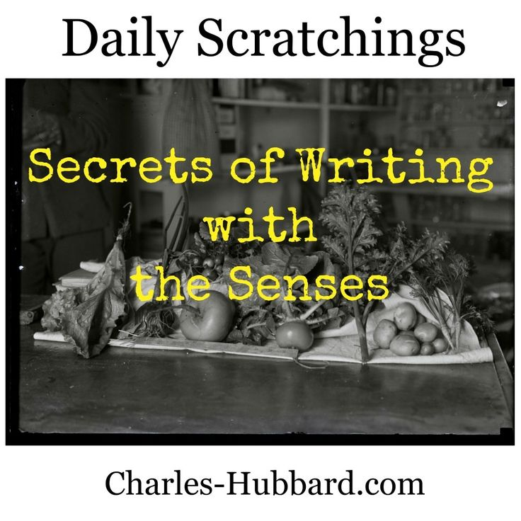 Secrets of Writing with the Senses