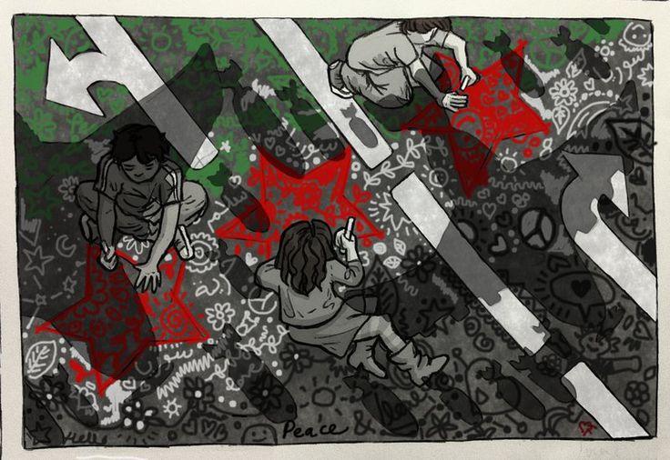 Children of Syria by Baleineau.deviantart.com on @deviantART