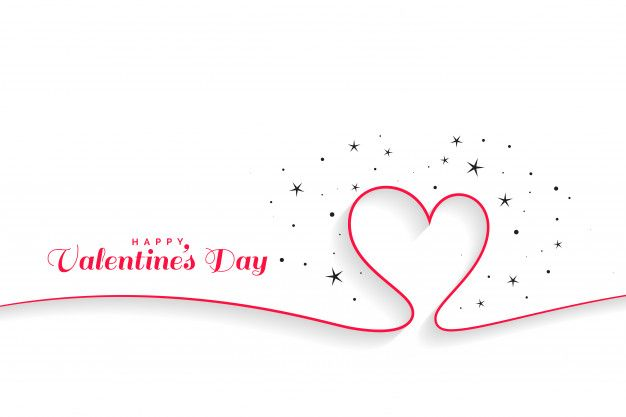 Valentines Day Banner Clipart Black And White
