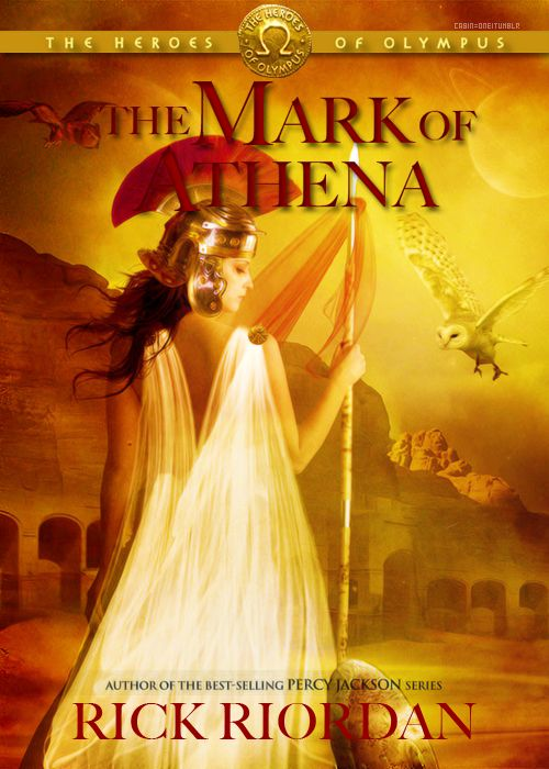 one of the covers for the third book in the Heroes of Olympus series.