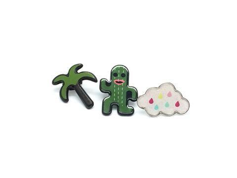 Heart Design Cute Pins #8