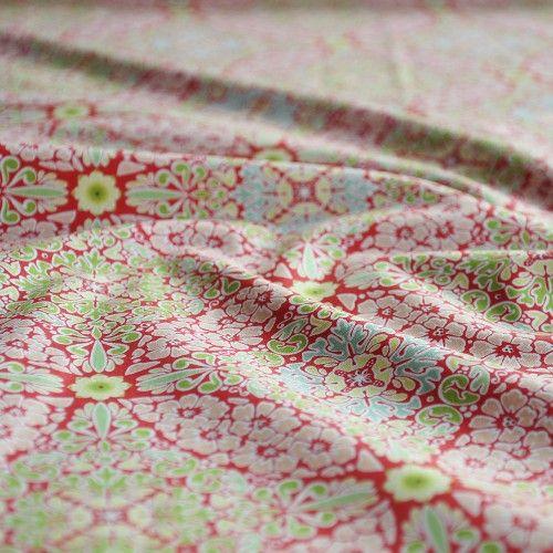 Tkanina bawełniana Grande Dame Red Blend Fabrics