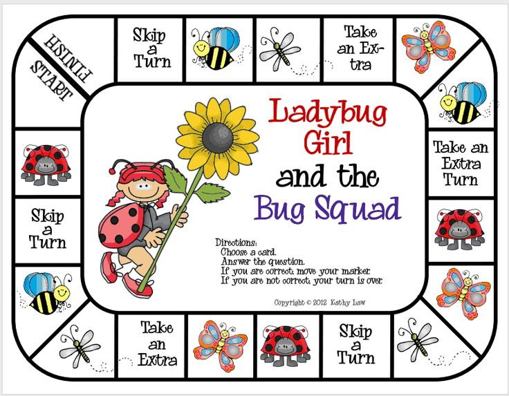 Read Along Wednesday:  Ladybug Girl