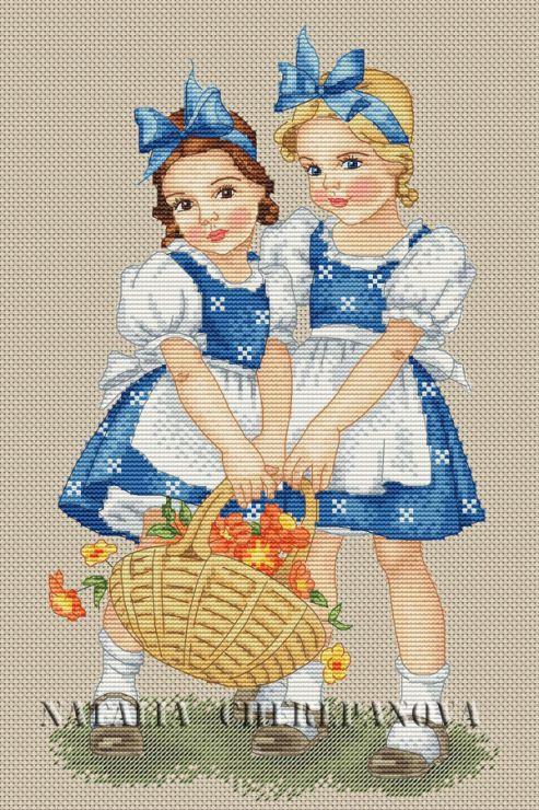 Gallery.ru / По рисунку Lungers Hausen - Платные схемы. - nata0179