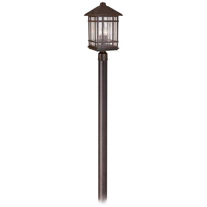 "J du J Sierra Craftsman 100"" High Direct Burial Post Light - #26058-68816 | Lamps Plus"