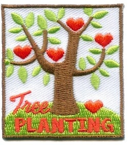 Tree Planting Fun Patch only $.79!
