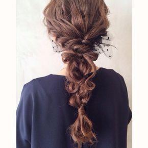 saoriさんありがとうございました(*^^*) リボンアレンジ(*^^*) お持ちのチュールをつけて♡ またお待ちしております♡ #hair#hairarrange#hairstyle#arrange#wadamiarrange#ヘアスタイル#ウェディング#ブライダル#ヘアアレンジ#ヘア#アレンジ#ファッション#ヘアメイク#メイク#愛知#名古屋#美容師#美容室#LOREN#lorensalon