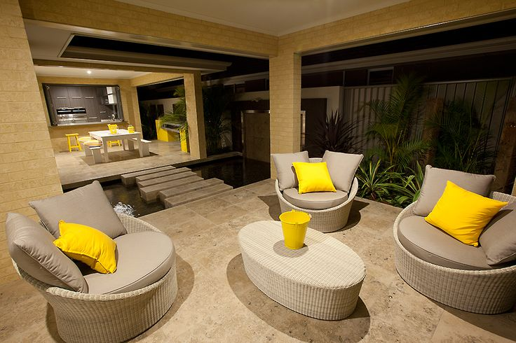 This amazing outdoor area is part of the #LancasterPlatinum display home, only at #HomeGroupWA.