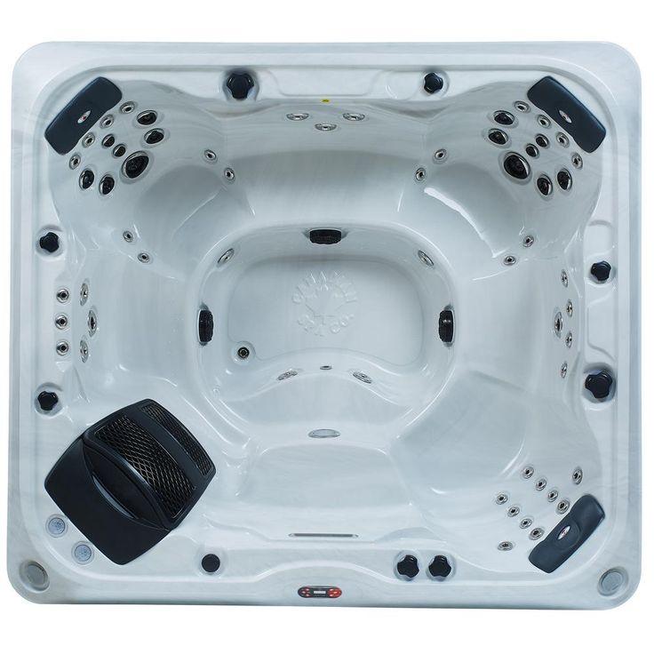 Canadian Spa Company Kingston SE 7-Person 55-Jet Hot Tub
