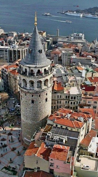 Galata Kulesi (Tower) - Istanbul, Turkey | by Yıldırım İncealemdaroğlu