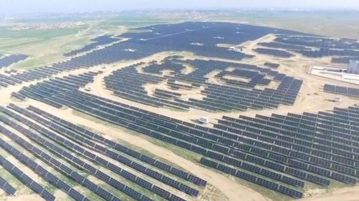Paw power: China plans 100 panda-shaped solar plants on new Silk Road - Reuters  In a country where you can find everything from chopsticks to slippers designed to look like pandas, one Chinese energy company is going a step further by building 100 solar farms shaped like the bears along the route of the ambitious Belt and Road initiative.