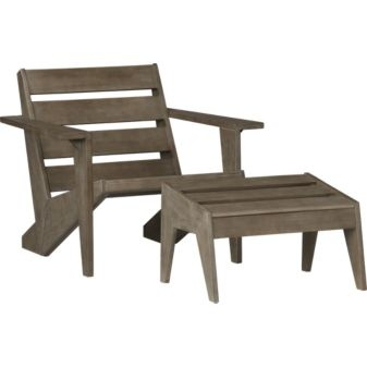 Modern Adirondack   Iconic Lawn Element Designed By Mark Daniel Relaxes  Eco Friendly In Sustainable. Modern Adirondack ChairsFree Woodworking PlansEco  ...