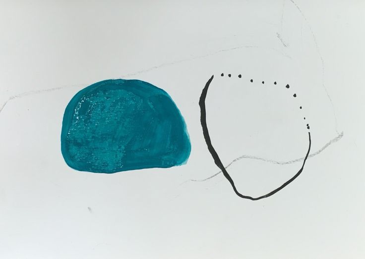 Norwegian painter Kristin Jensen Romberg. Work on paper. http://www.kristinromberg.com/