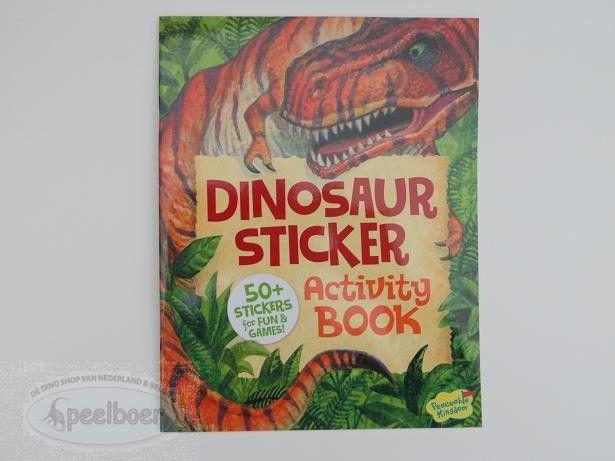 Dinosaurus Activiteiten Stickerboek
