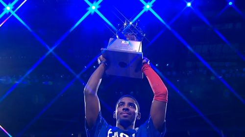 Kyrie Irving Wins Foot Locker Three-Point Contest (VIDEO)