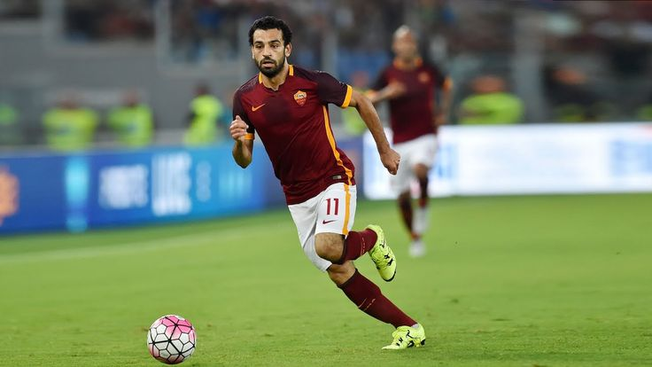 AS Roma Mohamed Salah is one of the fastest footballers in the world
