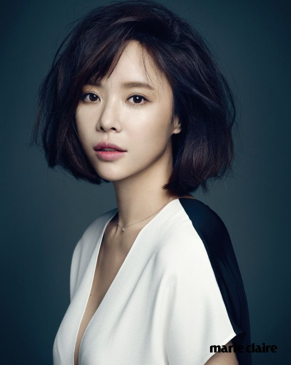 Hwang Jung Eum Marie Claire Korea February 2015 Look 1