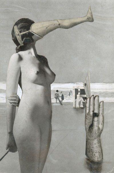 Pinned 30.6.13: Karel Teige. Collage Nr. 293, 1944.