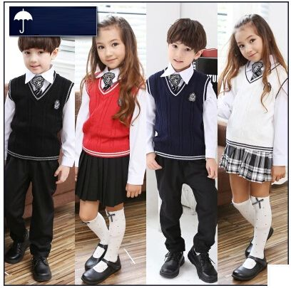 Cheap clothing comfort, Buy Quality clothes shopping in japan directly from China clothes clothing Suppliers: British korean japanese school uniform kids clothes uniforme escolar children girls and boys clothing Sweater vest skirt