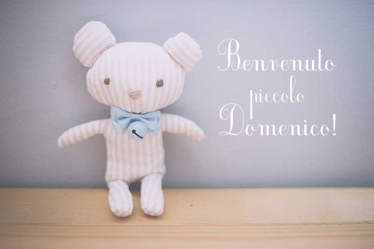 AnDphotography - handmade Here's what we did for the sweet baby born Domenico!