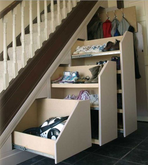 The Best Idea For Under The Stairs Coats Shoes Vacuum