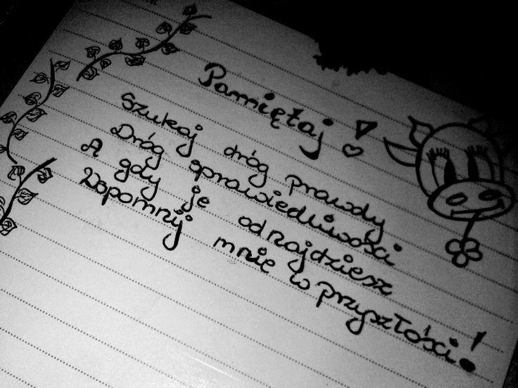 Słowa, które dają siłę ;)