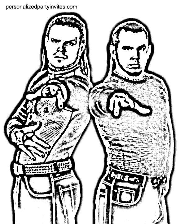 bethesta the wrestler coloring pages - photo#28