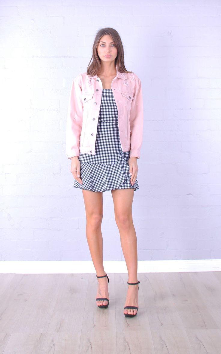 Love Affair Boutique - Lab Pink Denim Jacket