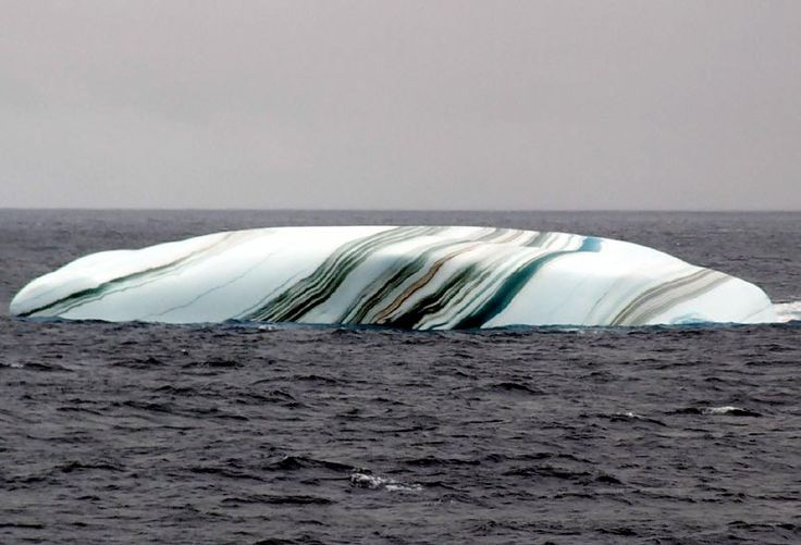 Picture of the Day: The Multicolored Iceberg
