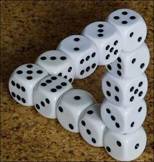 another optical illusion ...