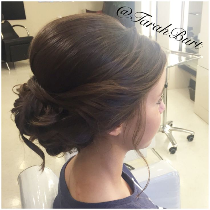 Homecoming Hair for a Gorgeous Girl!  #homecominghair #homecominghairstyles #homecominghairinspiration #Hair #updo #bun #gorgeousgirl #gorgeoushair #gorgeoushairstyles #HairByTarah #Salon41 #darkhair #pretty #prettyhair #hairideas #hairlove #ModernSalon #HairBrained #btcpics #behindthechair #worldhairstyles