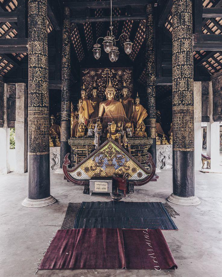 Bouddha au Wat Phra That Lampang Luang