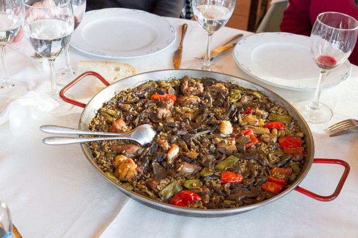 Comida en el Restaurante Hostal Pedraforca
