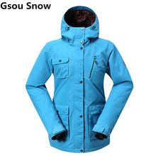 US $116.76 Gsou Snow Snowboard Ski Jacket Women Waterproof 10K Breathable Mountain Skiing Jacket Female Warm Coat Womens Winter Jackets. Aliexpress product