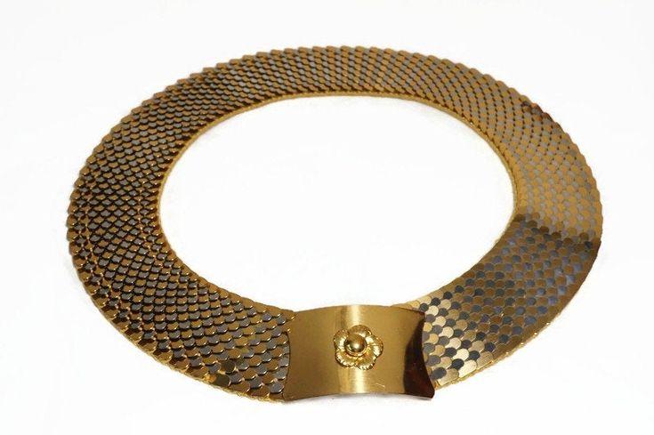 Vintage Silver Tone Metal Medallions Elastic Backing Belt silver tone belt 1980s belt elastic belt