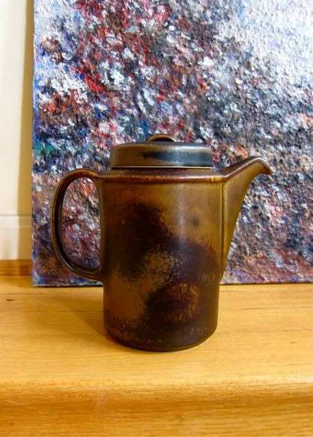 Ruska Finland Coffee Pot Ulla Procope Design by TooArtfulForYou, $71.99