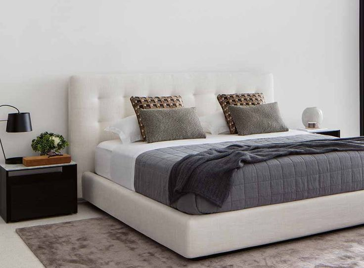 Serenade Storage Bed   King Size Bed   Queen Size Bed   Double Size Bed   King Single Bed   - King Living