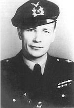 """Ilmari """"Illu"""" Juutilainen (21 February 1914 – 21 February 1999) was a fighter pilot of the Ilmavoimat (Finnish Air Force). - http://en.wikipedia.org/wiki/Ilmari_Juutilainen"""
