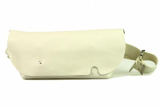 MESSENGER BAG (S)/WHITE