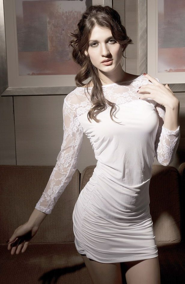 SEXY GOGO White Fashion Dress