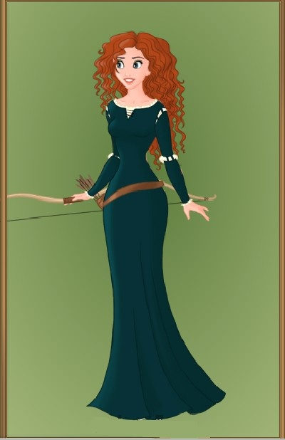 Merida; Brave.....love her hair!