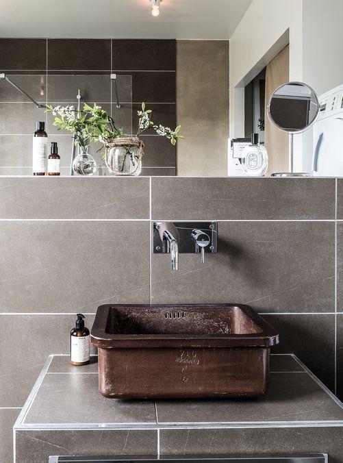 die besten 17 ideen zu dunkle badezimmer auf pinterest. Black Bedroom Furniture Sets. Home Design Ideas