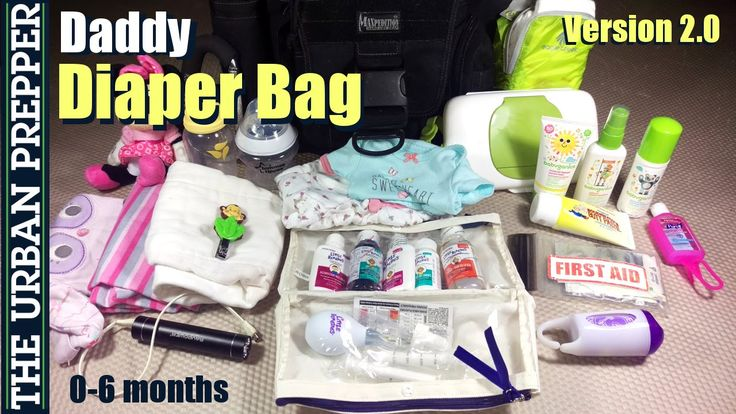 Daddy Diaper Bag (v2.0): 0-6 months by TheUrbanPrepper