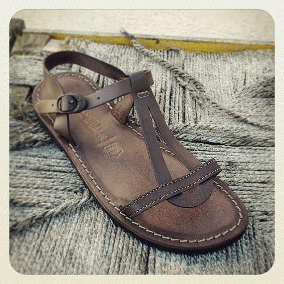 SALE 5 dollar off / Leather Sandals Womens por SandaliShop en Etsy