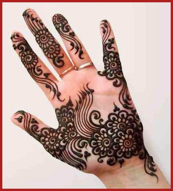 Simple Rajasthani Mehndi Designs