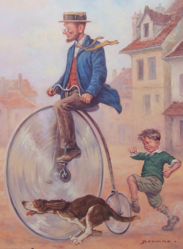 The big race (A nagy verseny) - artist: Szász Endre László