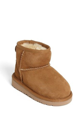 UGG® Australia 'Classic Mini' Boot (Walker, Toddler & Big Kid) available at #Nordstrom